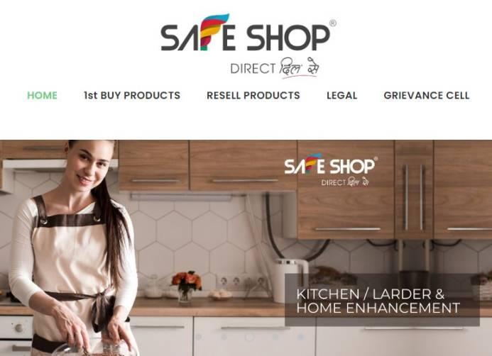 safe shop india .com app