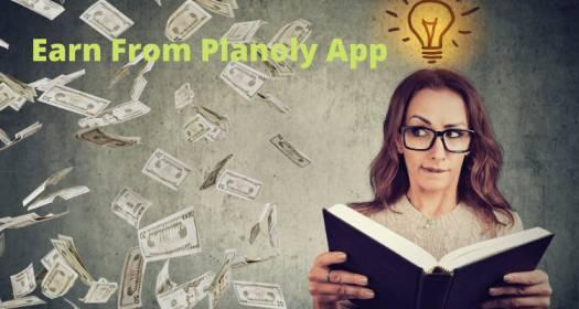 Earn From Planoly App