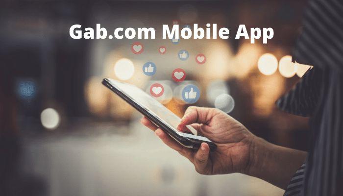 gab.com mobile app