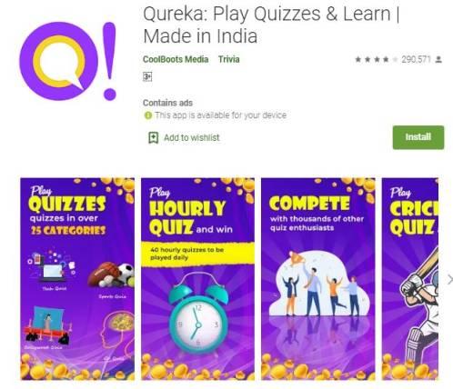 qureka earn money app