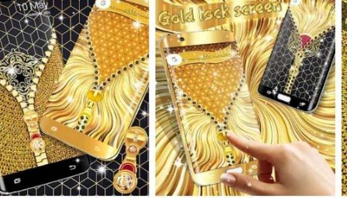 golden lock screen app download